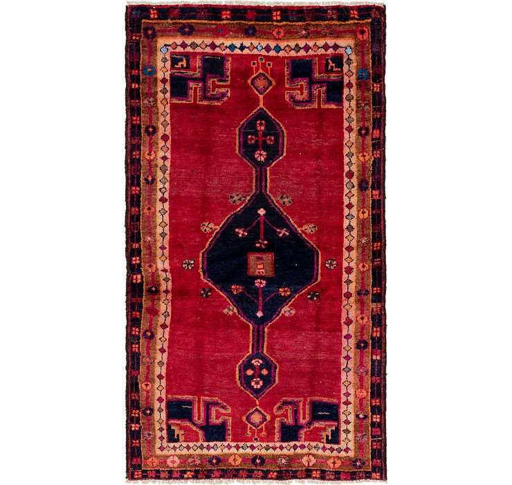 3' 10 x 6' 9 Shiraz Persian Rug