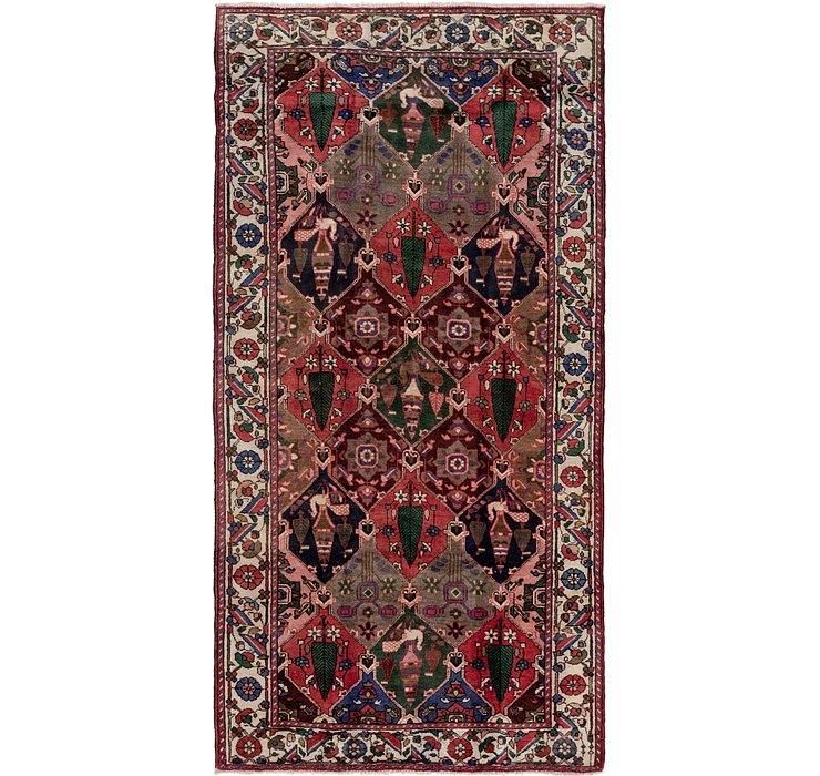 5' 2 x 10' Bakhtiar Persian Runner...