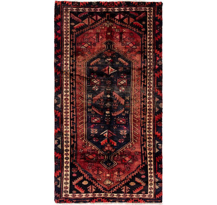 3' 10 x 7' 4 Hamedan Persian Runner ...