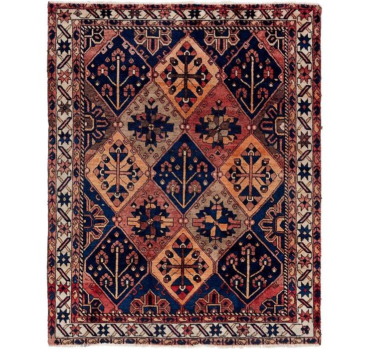 5' x 6' 5 Bakhtiar Persian Square...