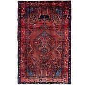 Link to 4' 7 x 7' Hamedan Persian Rug