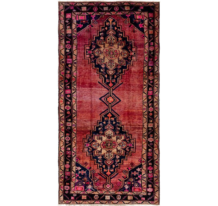 5' 3 x 10' 6 Shiraz Persian Runner Rug
