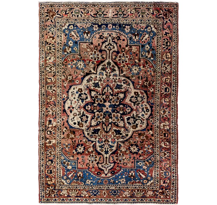 HandKnotted 5' 5 x 8' Bakhtiar Persian Rug