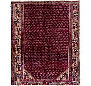 Link to 4' x 5' Farahan Persian Square Rug