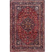Link to 190cm x 292cm Mashad Persian Rug