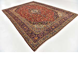 HandKnotted 9' 7 x 13' 2 Kashan Persian Rug