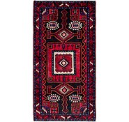 Link to 4' 9 x 9' 6 Zanjan Persian Runner Rug