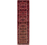 Link to 2' 6 x 9' 10 Hossainabad Persian Runner Rug