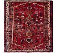 Link to 147cm x 165cm Shiraz Persian Square Rug