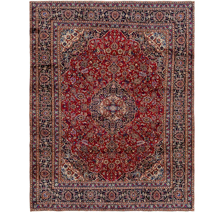 HandKnotted 9' 6 x 12' 3 Mashad Persian Rug
