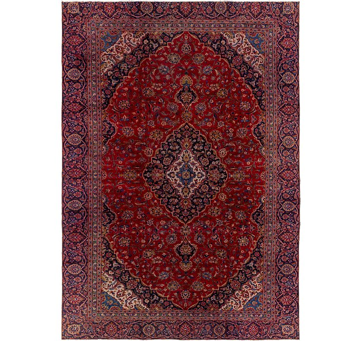 280cm x 410cm Mashad Persian Rug