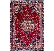Link to 213cm x 312cm Mashad Persian Rug