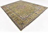 Link to 9' 6 x 12' 5 Kashan Persian Rug