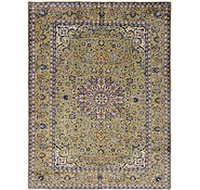 Link to 9' 6 x 12' 5 Kashan Persian Rug