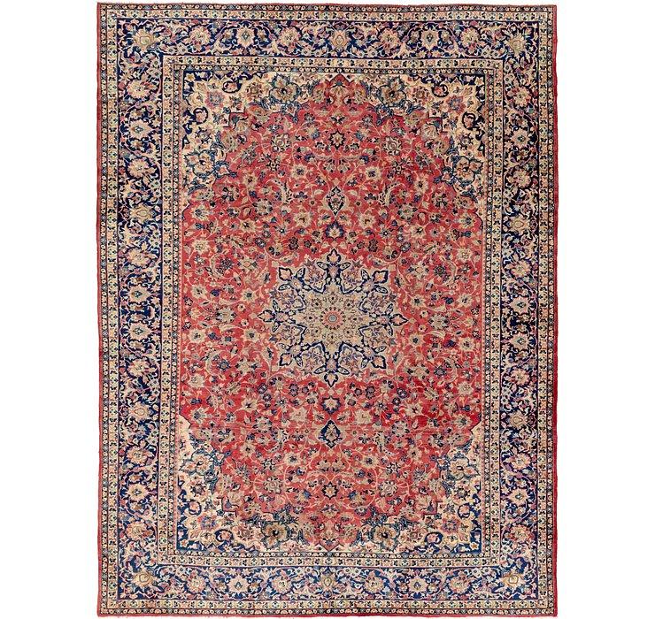 10' 4 x 13' 8 Isfahan Persian Rug