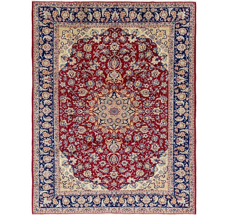 10' 5 x 13' 6 Isfahan Persian Rug