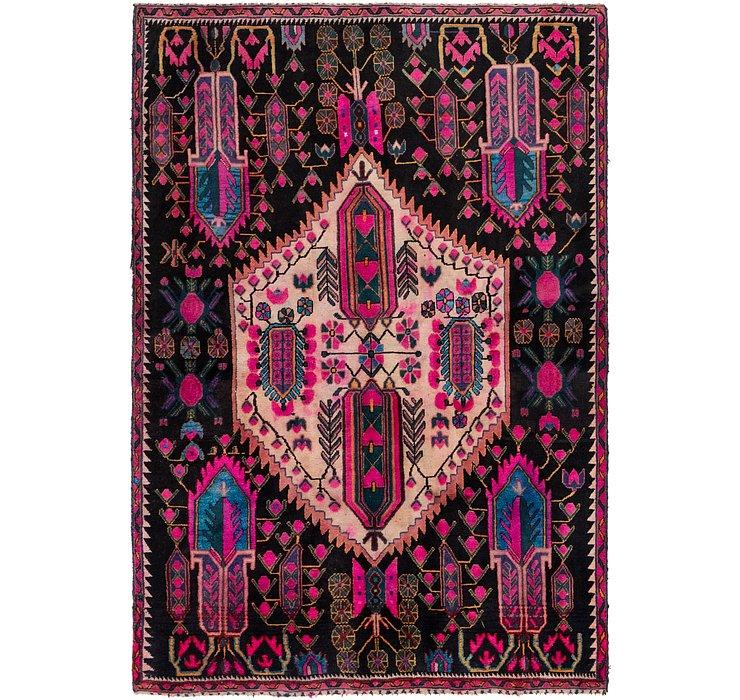 4' 6 x 6' 10 Hamedan Persian Rug