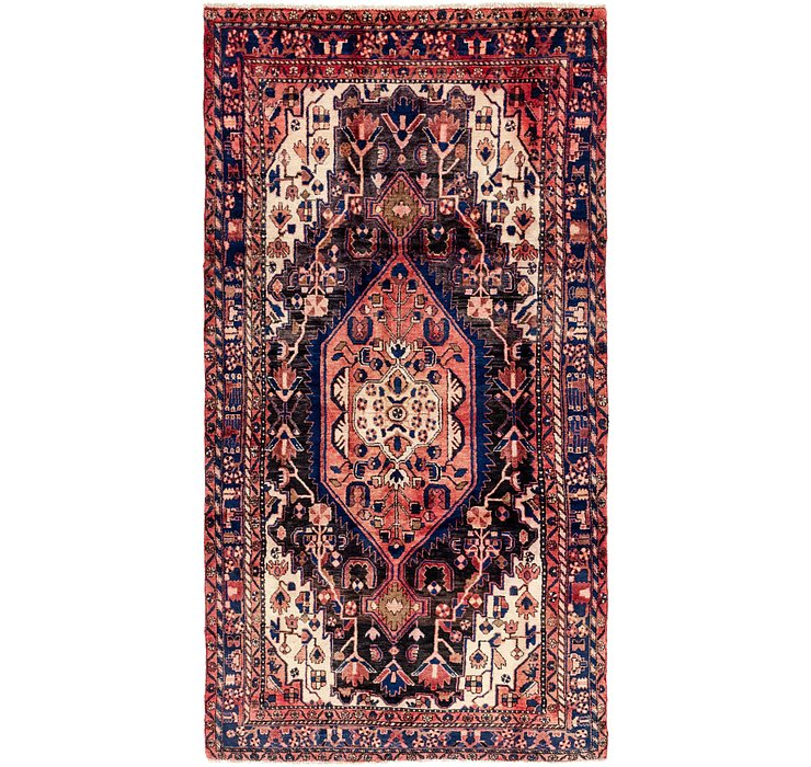 4' 9 x 9' 9 Tuiserkan Persian Runne...