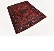Link to HandKnotted 4' 4 x 5' 7 Zanjan Persian Rug