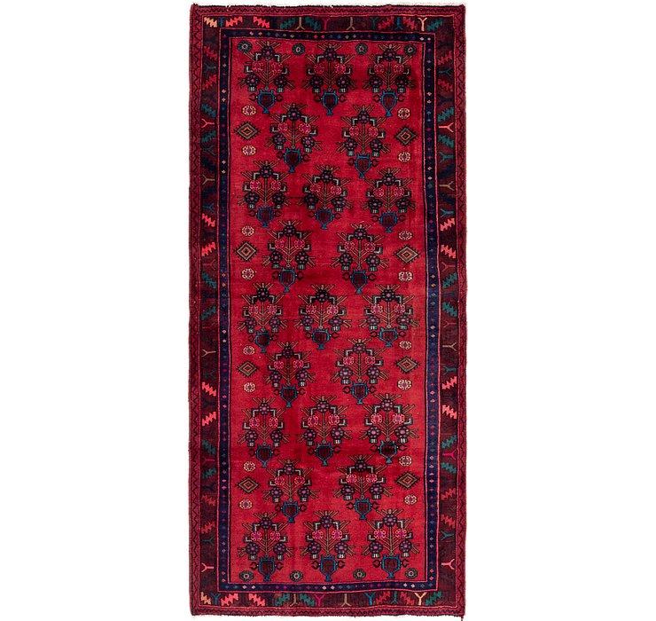 4' 3 x 10' Sirjan Persian Runner Rug