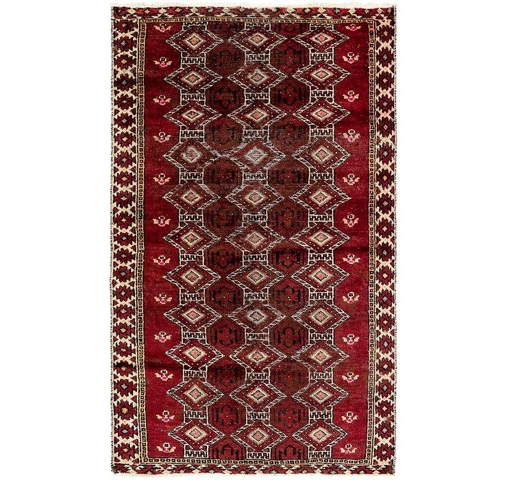 3' 7 x 6' 2 Balouch Persian Rug
