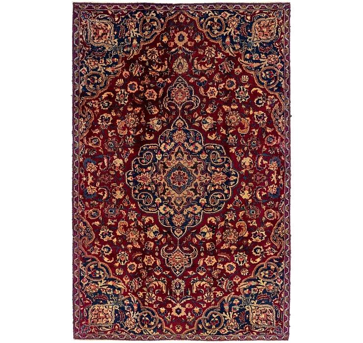 5' 3 x 8' 4 Mashad Persian Rug