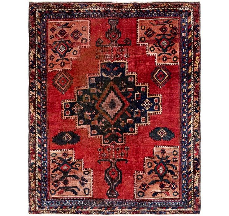 5' x 6' Hamedan Persian Rug