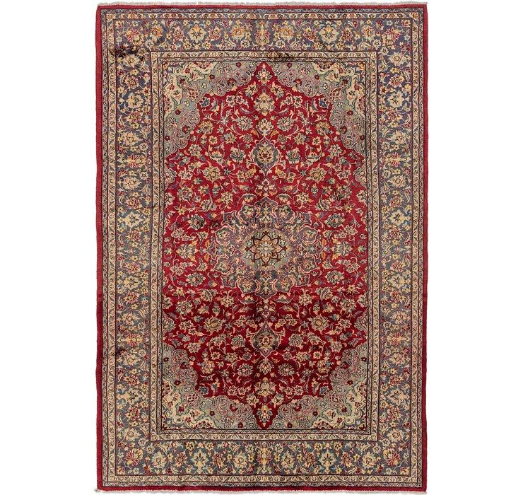 7' 7 x 11' Isfahan Persian Rug