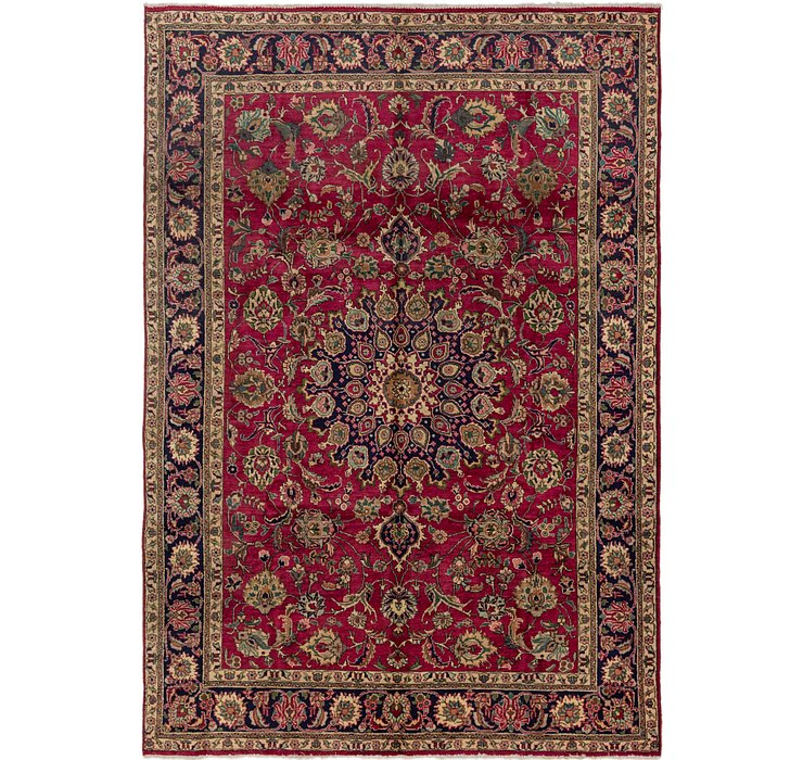 8' x 11' 8 Tabriz Persian Rug
