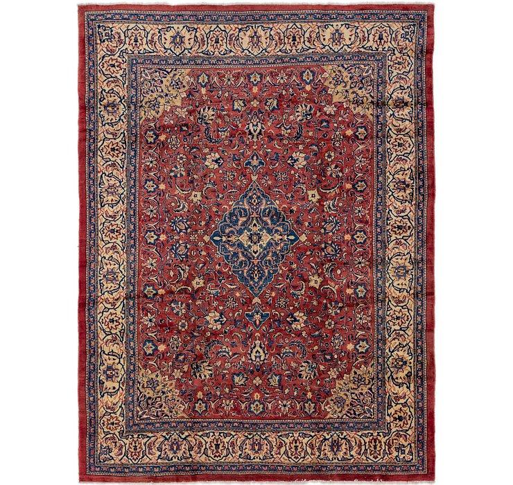 10' x 13' 4 Sarough Persian Rug