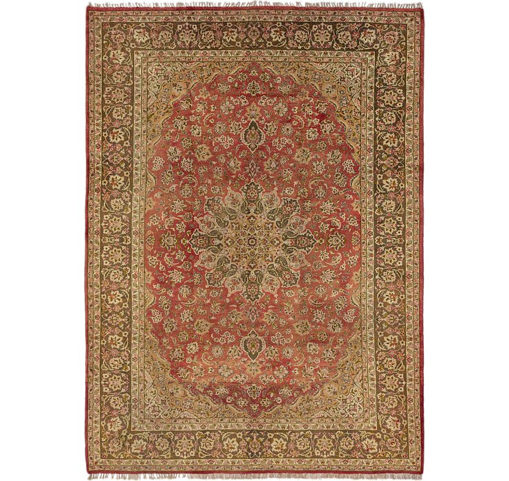 HandKnotted 10' 3 x 14' Mashad Persian Rug