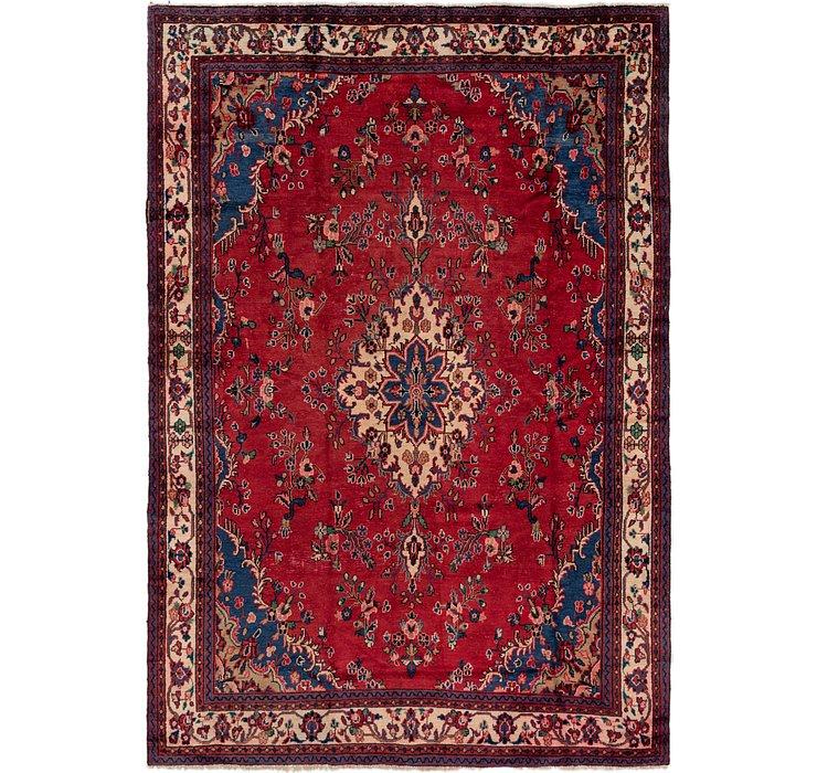 7' 8 x 10' 9 Hamedan Persian Rug