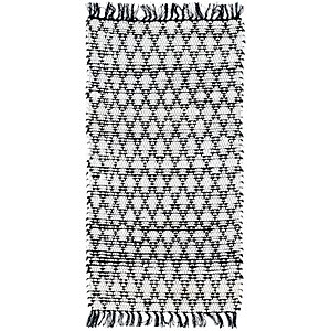 Link to 2' 4 x 4' 7 Braided Chindi Rug item page