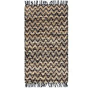 Link to 2' 4 x 4' 6 Braided Chindi Rug