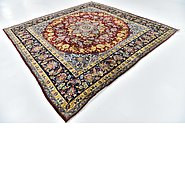 Link to 9' 5 x 9' 9 Isfahan Persian Square Rug