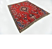 Link to 6' 4 x 8' Hamedan Persian Rug