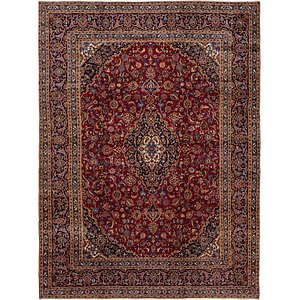 Link to 9' 3 x 12' 6 Kashan Persian Rug page
