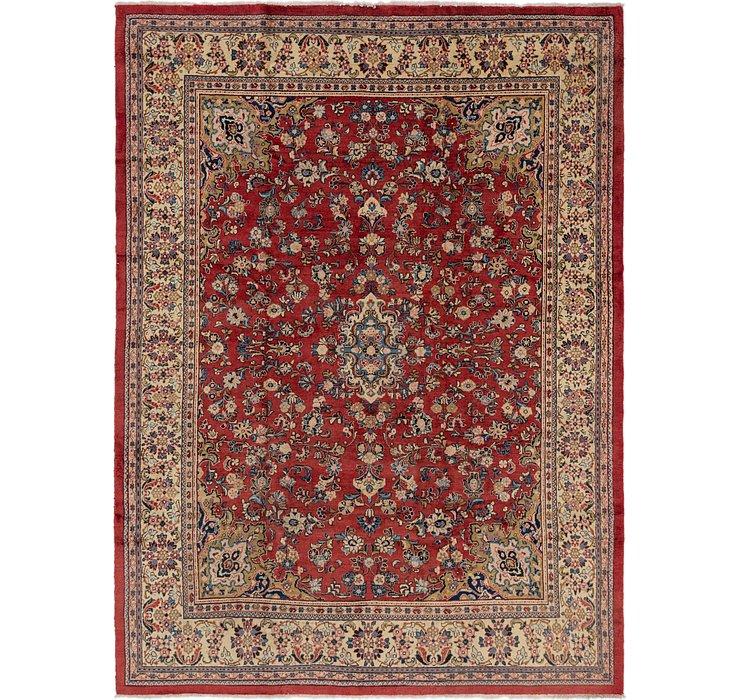 9' 9 x 13' 2 Sarough Persian Rug