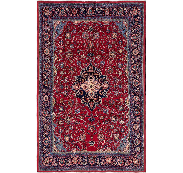 7' 3 x 11' Sarough Persian Rug
