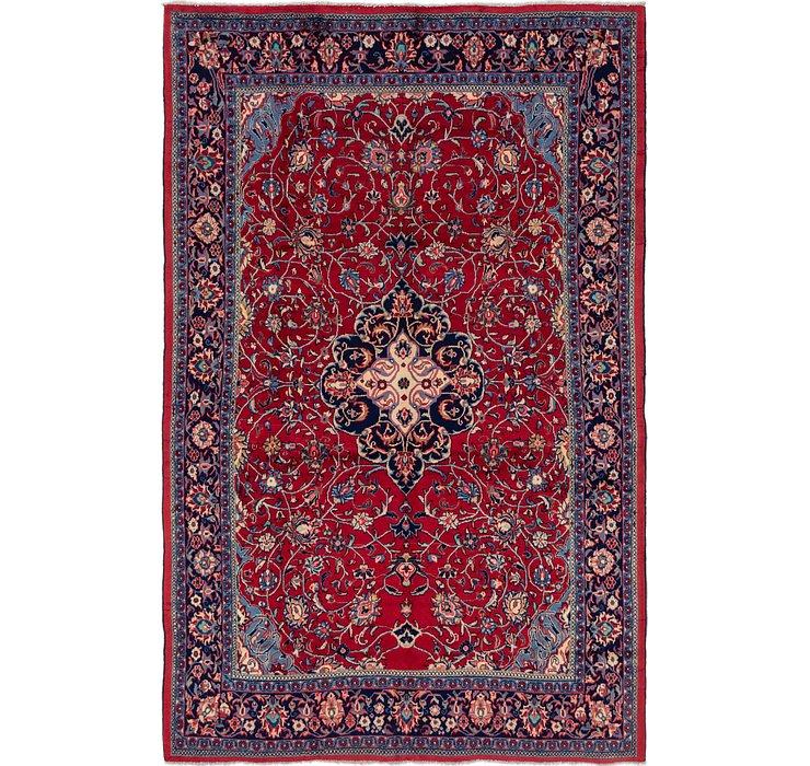 7' 3 x 11' Sarough Persian Rug