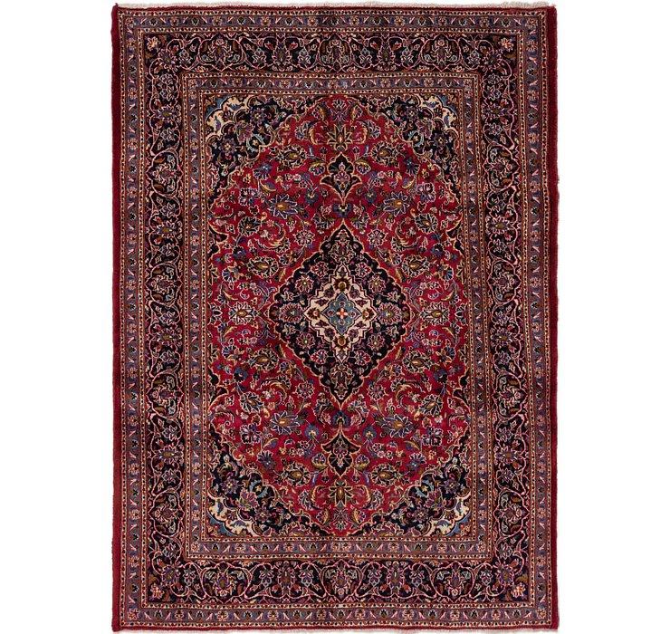 6' 8 x 9' 3 Mashad Persian Rug
