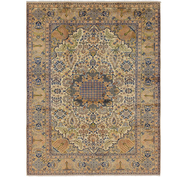 9' 6 x 12' 8 Isfahan Persian Rug