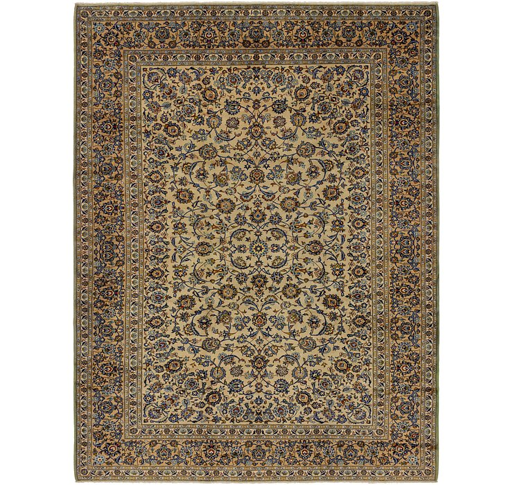 10' 3 x 13' 7 Kashan Persian Rug