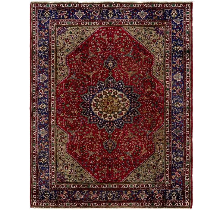 8' 4 x 10' 10 Tabriz Persian Rug