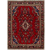 Link to 7' x 9' 2 Hamedan Persian Rug