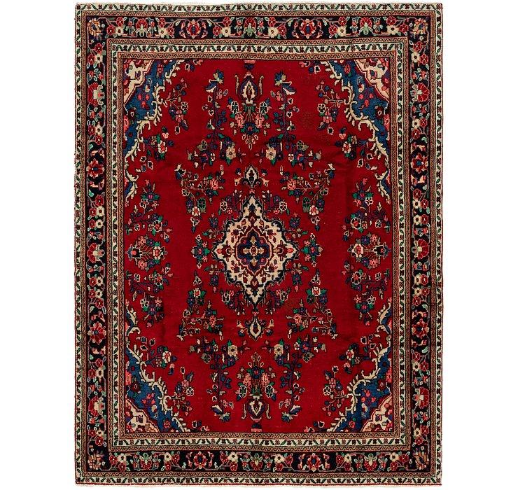 7' x 9' 2 Hamedan Persian Rug