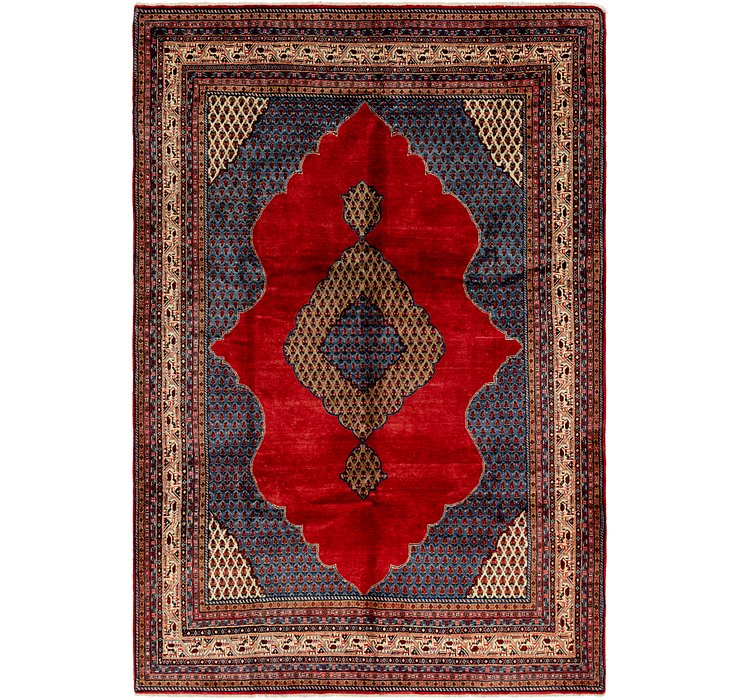 6' 9 x 10' Botemir Persian Rug