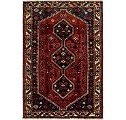 Link to 4' 8 x 7' Ghashghaei Persian Rug