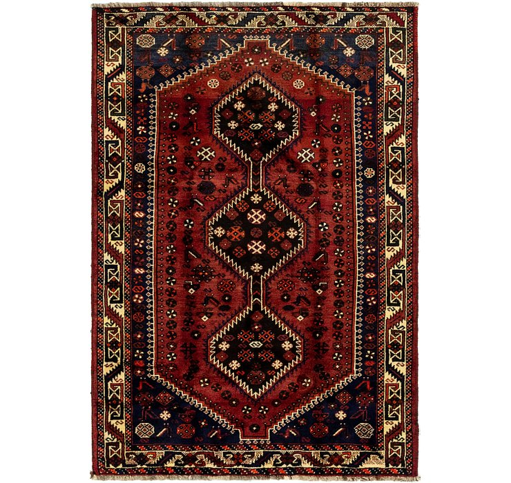 142cm x 213cm Ghashghaei Persian Rug