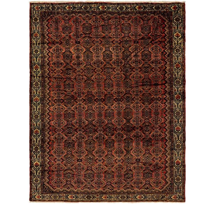 10' 3 x 13' 4 Hamedan Persian Rug